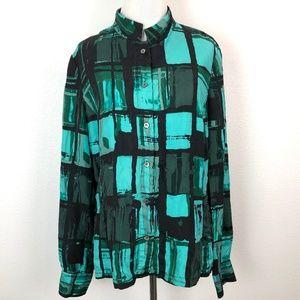 Carlisle Silk Button Down Shirt